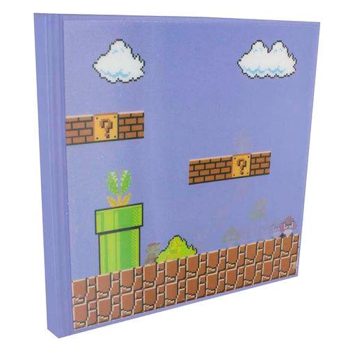 Cahier super mario nitendo notebook 3d