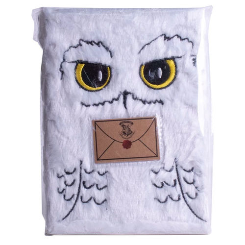 Carnet de note harry potter hedwig