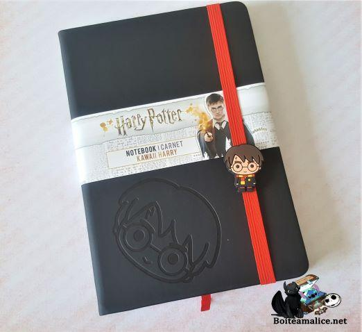 Carnet de note harry potter kawaii