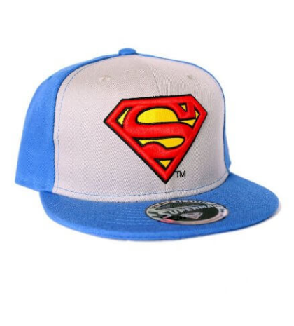 Casquette baseball logo superman