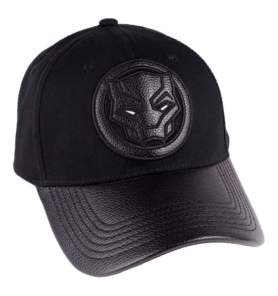 Casquette black panther marvel logo deluxe 1