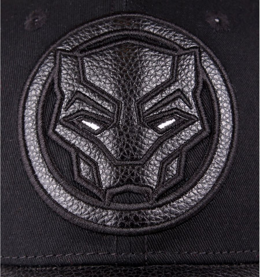 Casquette black panther marvel logo deluxe 5
