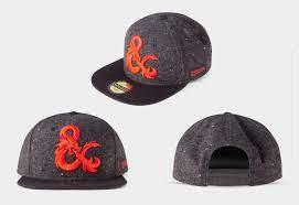Casquette dungeons dragons