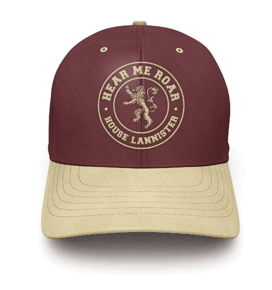 Casquette game of thrones lannister