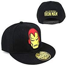 Casquette iron man