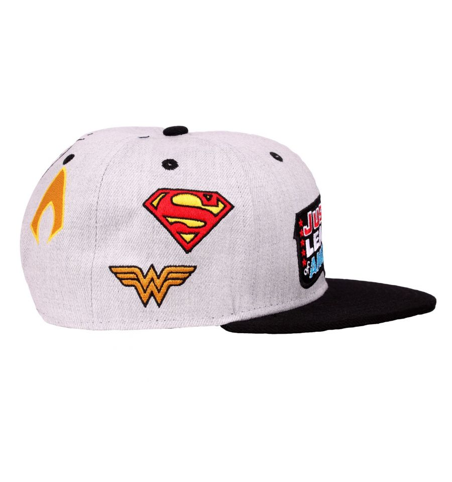Casquette justice league dc comics patch 1