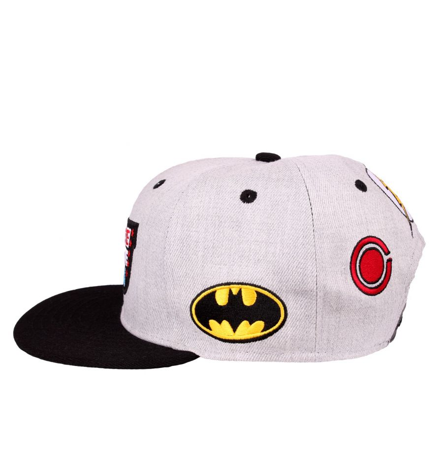 Casquette justice league dc comics patch 2
