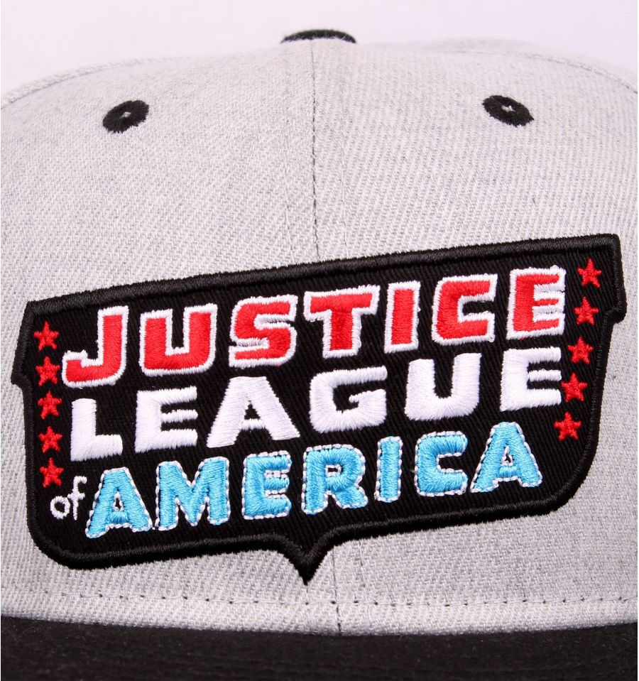 Casquette justice league dc comics patch 3