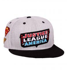 Casquette justice league dc comics patch