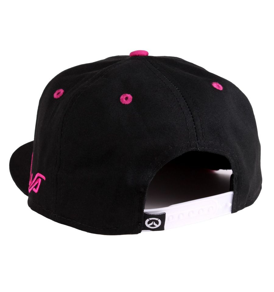 Casquette overwatch dva pink bunny verso