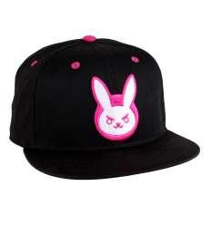 Casquette overwatch dva pink bunny