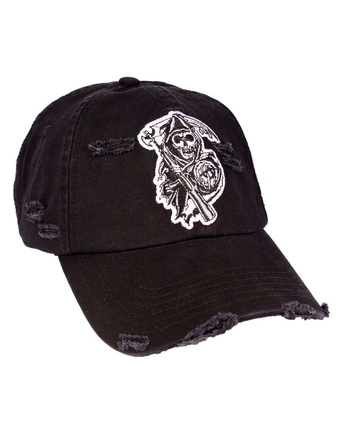 Casquette sons of anarchy grunge reaper 2