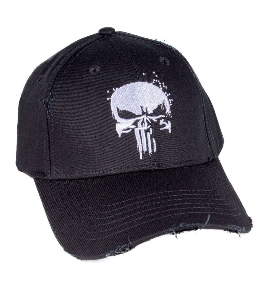 Casquette the punisher marvel grungy punisher 1