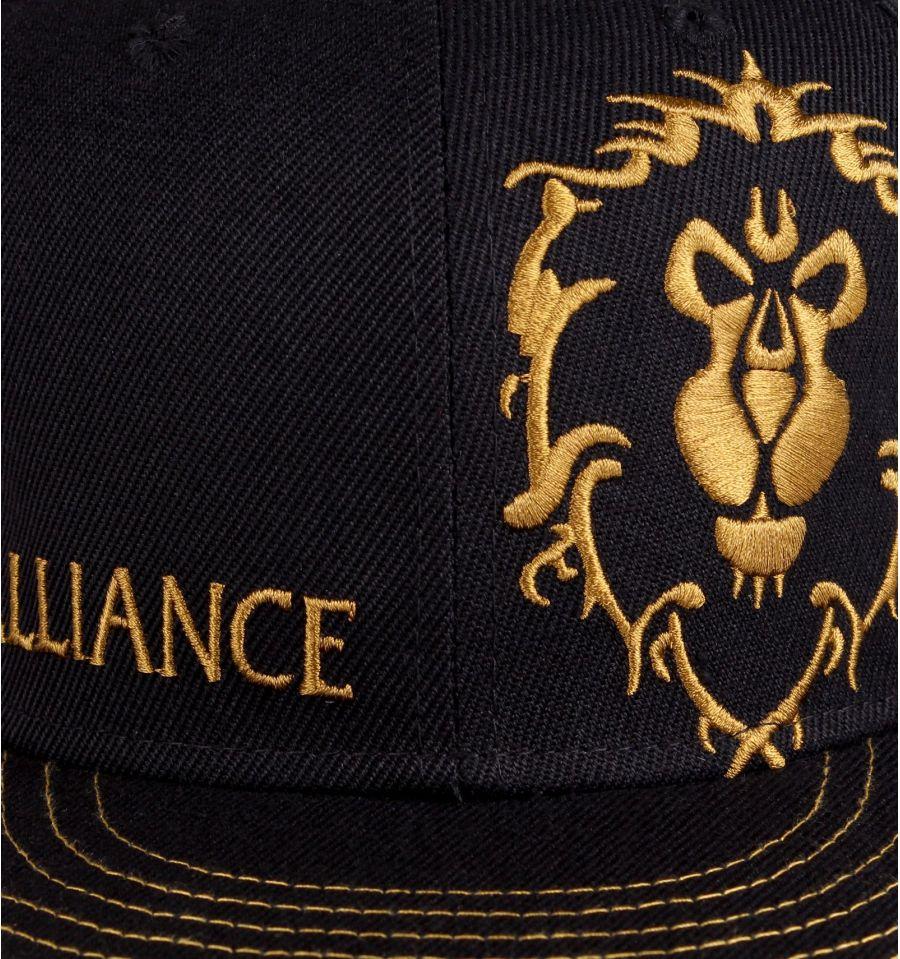 Casquette world of warcraft alliance logo 1