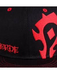 Casquette wow horde