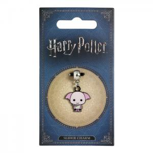 Charm harry potter dobby argent plaque