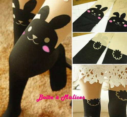 Collant lapin