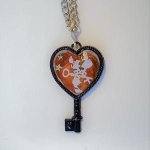 Collier coeur alice