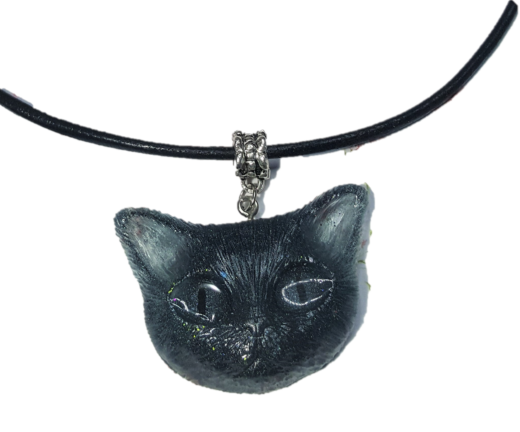 Collier femme chat 1