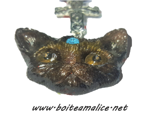 Collier femme chat