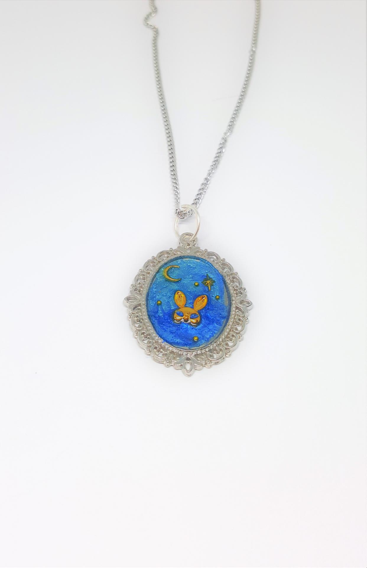 Collier femme lapin