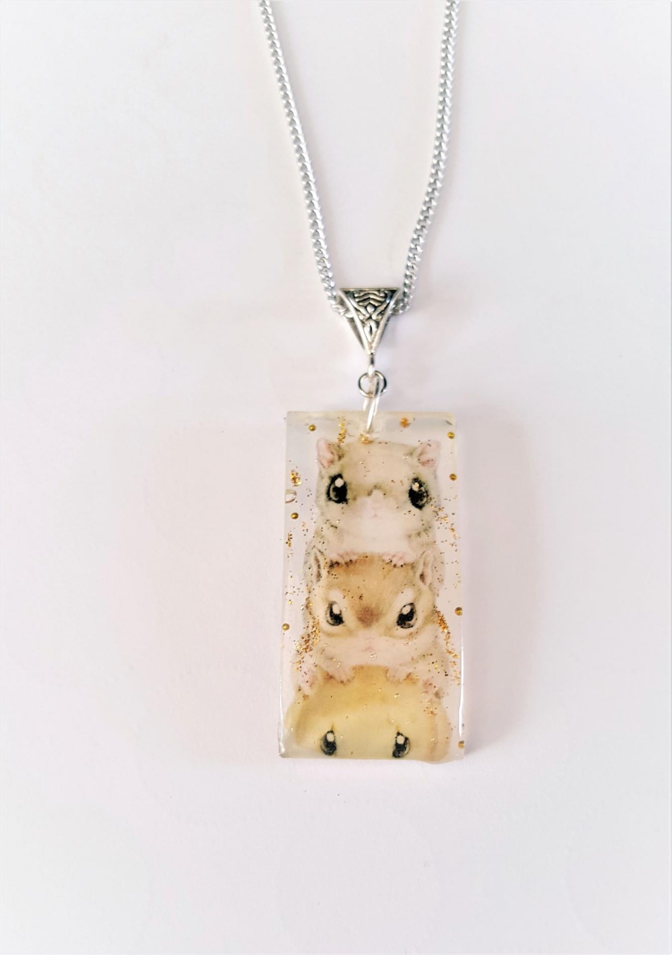 Collier kawaii hamster