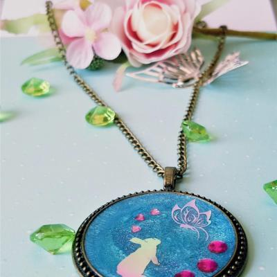 Collier kawaii lapin