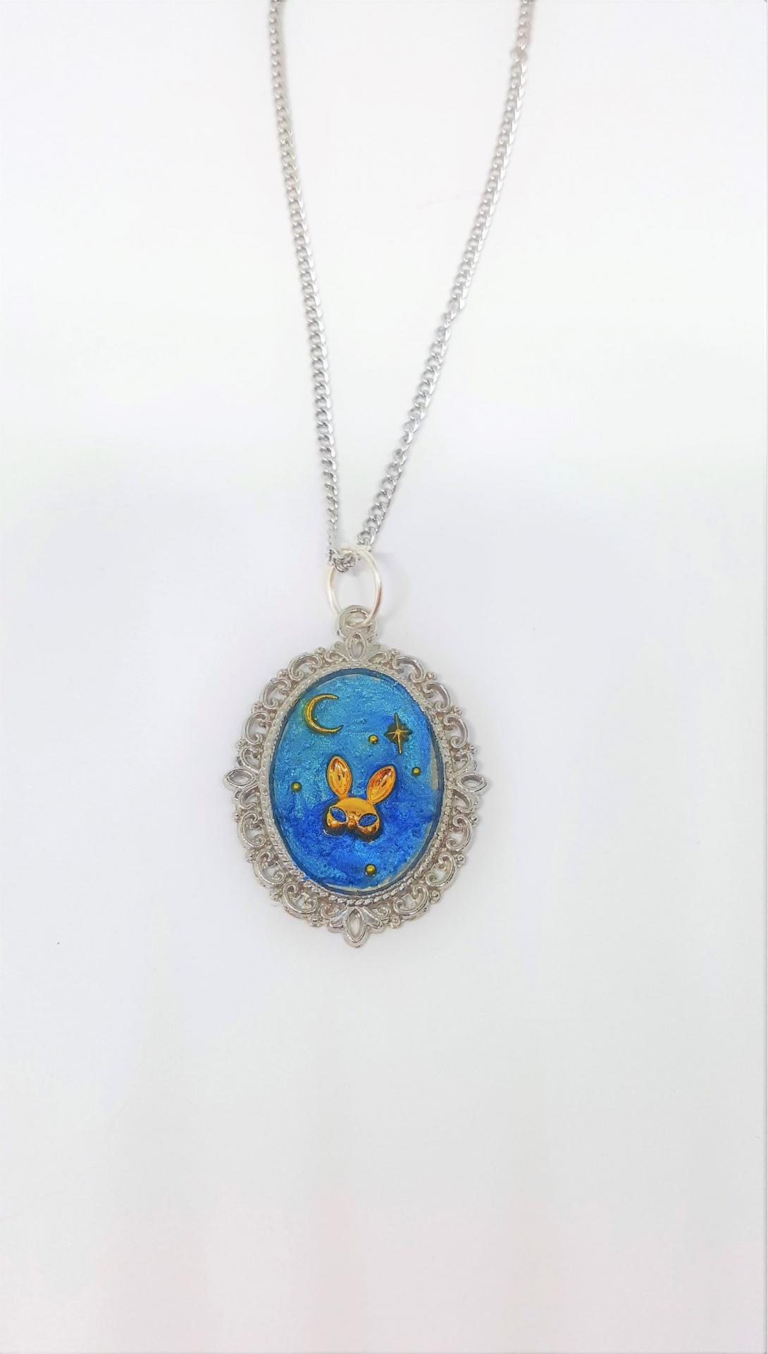Collier lapin