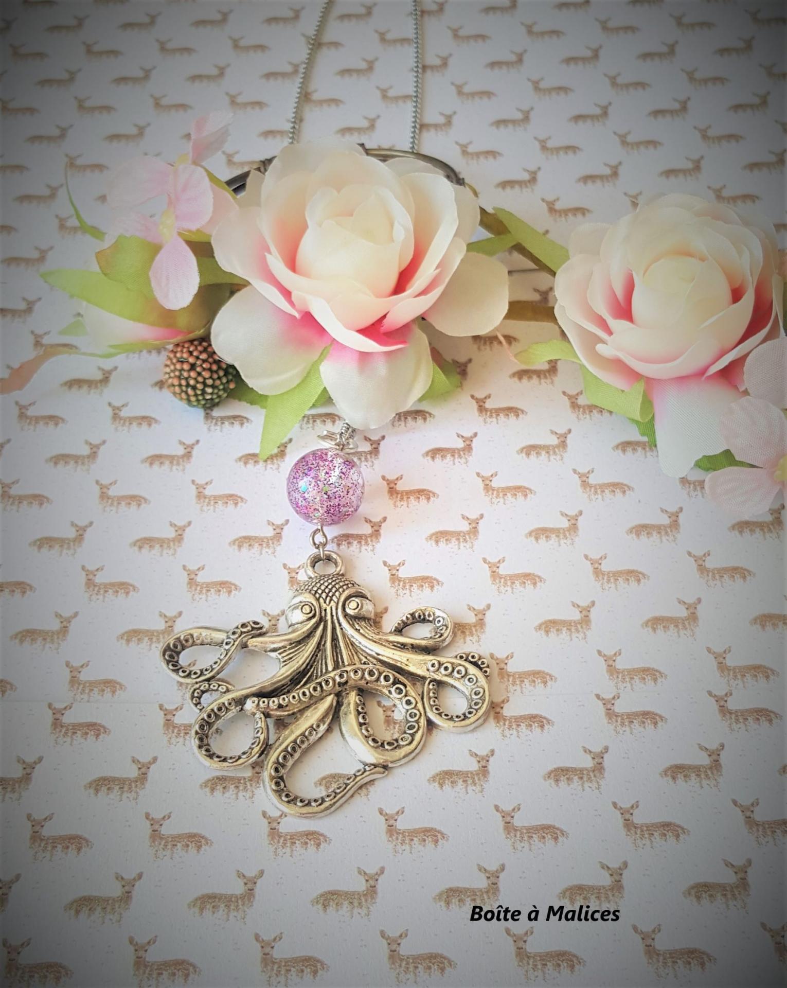 Collier octopus 3