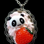 Collier panda gourmand 1