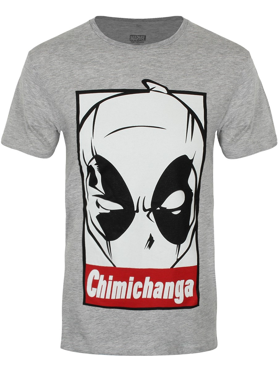 Deadpool t shirt chimichanga