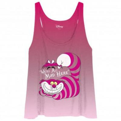 Debardeur femme alice disney mad cheshire cat 1