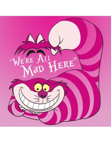 Debardeur femme alice disney mad cheshire cat
