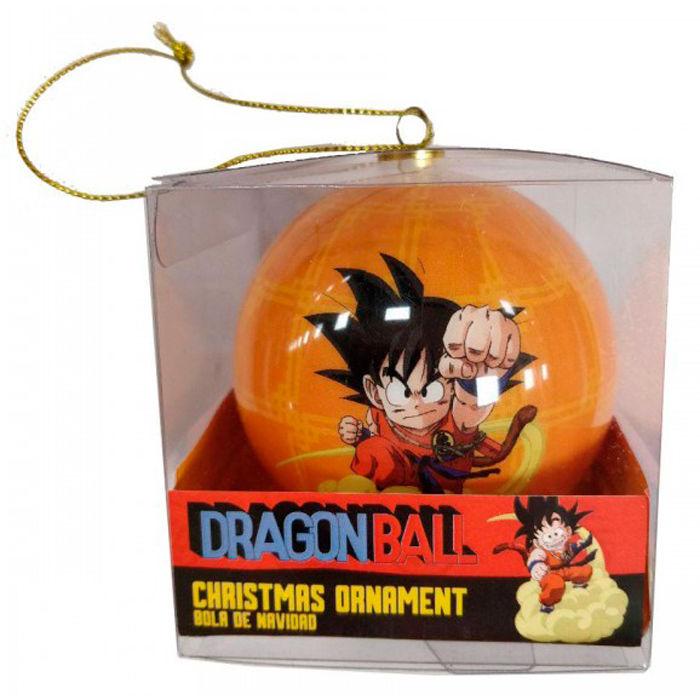 Decoration noel dragon ball goku boule de noel goku