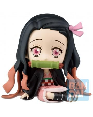 Demon slayer kimetsu no yaiba figurine 6 cm chibi kyun chara nezuko kamado