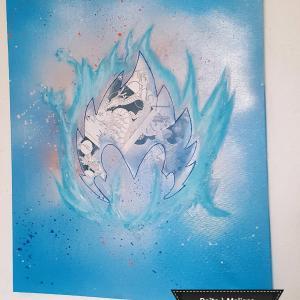 Dragon ball peinture