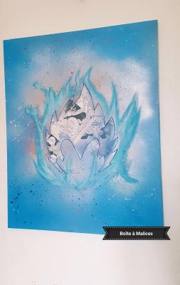 Dragon ball peinture