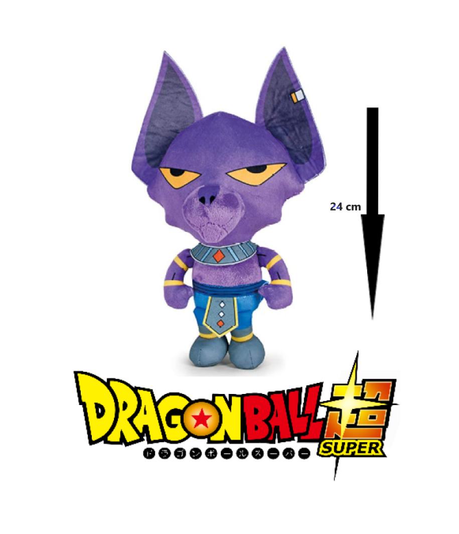 Dragon ball super peluche beerus 24cm