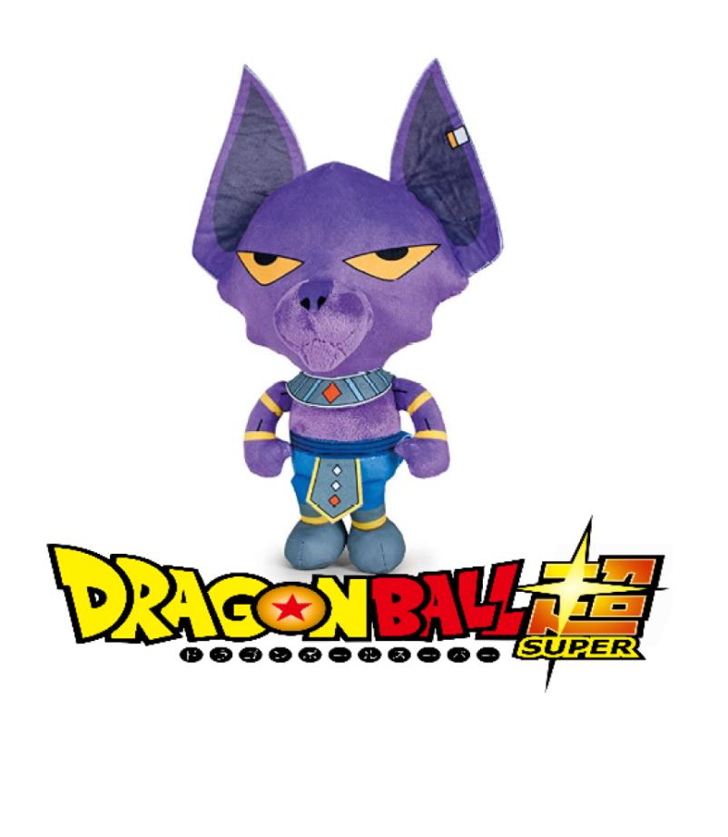 Dragon ball super peluche beerus