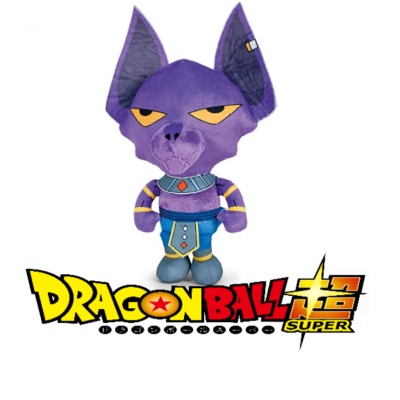 Dragon ball super peluche beerus