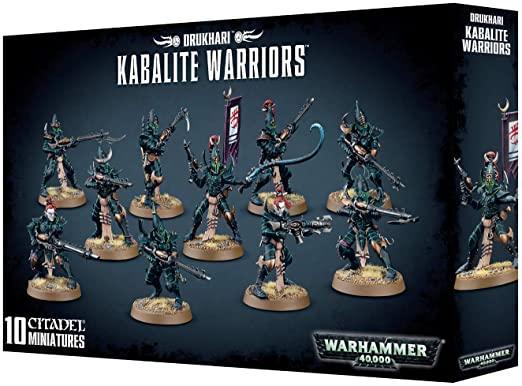 Drukhari kabalite warriors warhammer