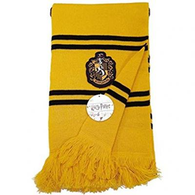 Echarpe harry potter hufflepuff school