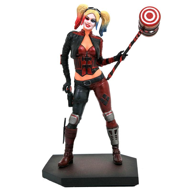 Figurine harley quinn dc video game gallery injustice 2
