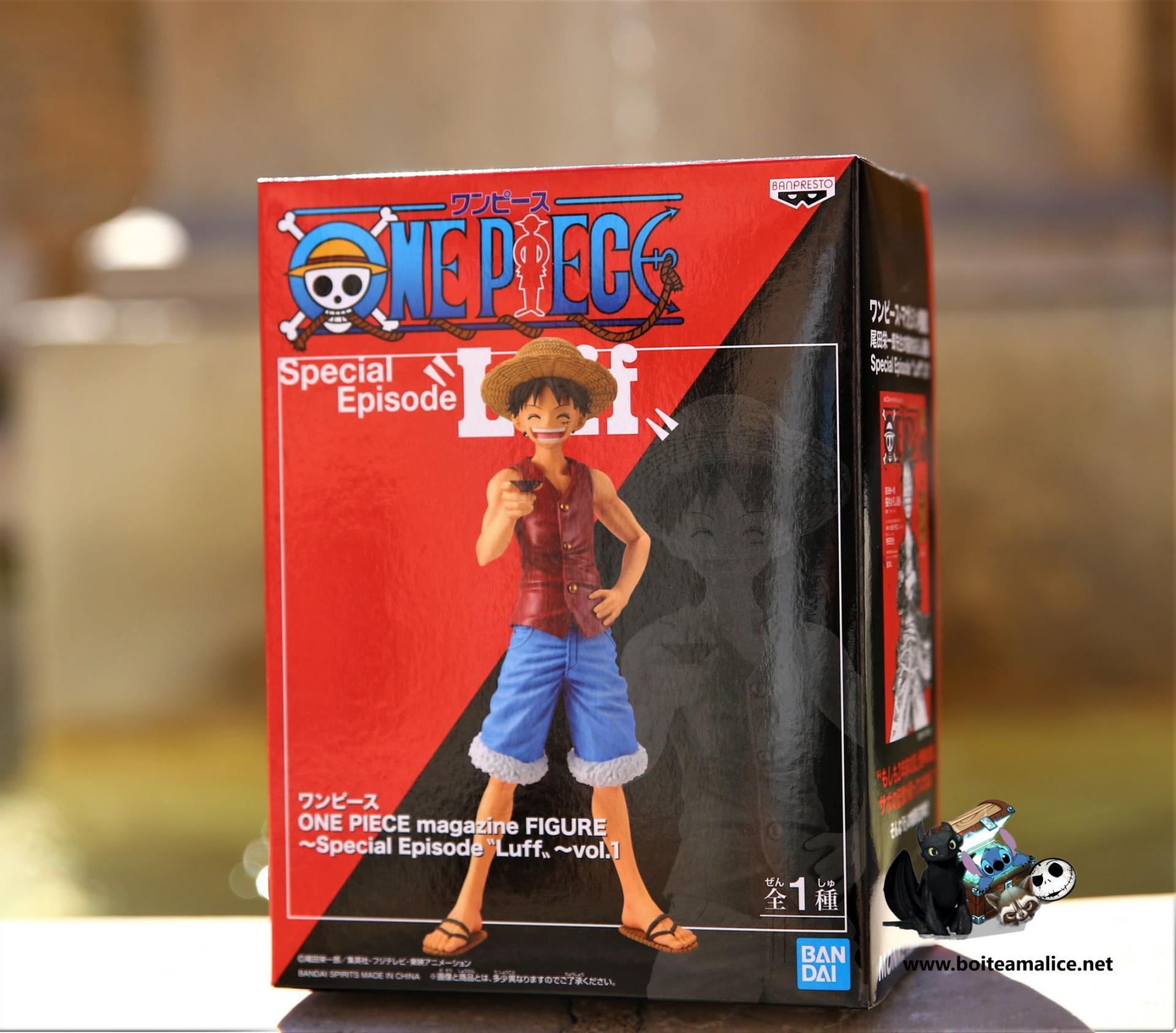 Figurine luffy 18 cm speciale episode 1