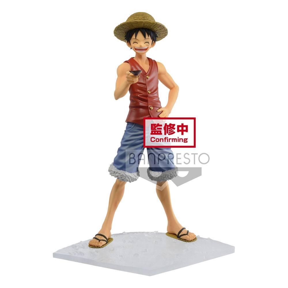 Figurine luffy figurine magazine special episode vol1