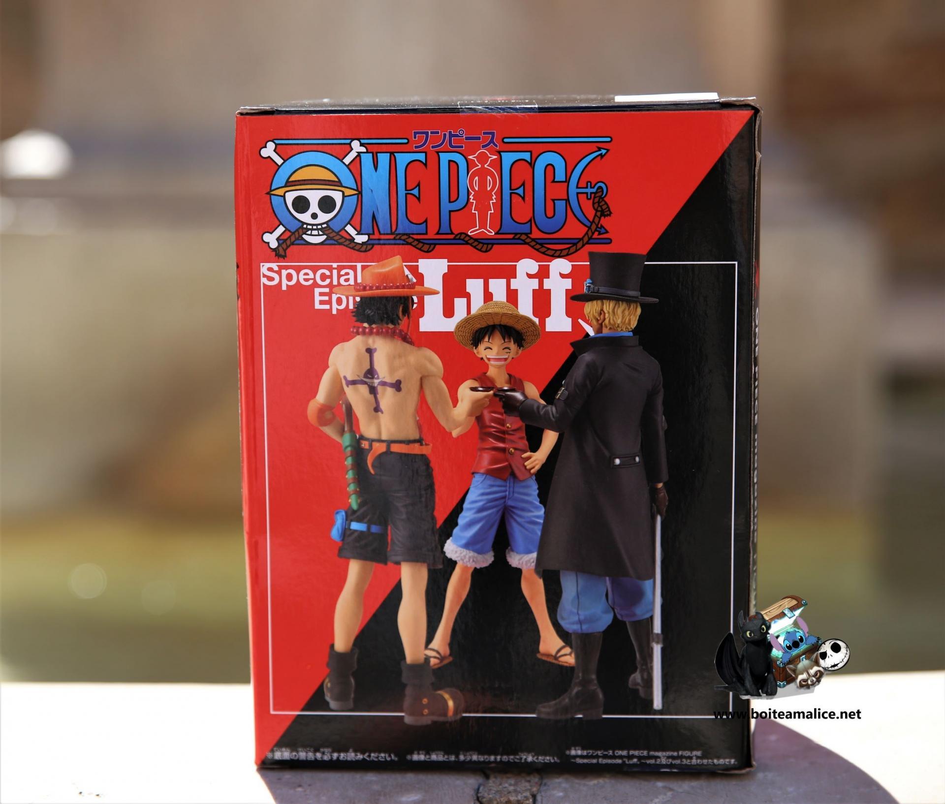 Figurine luffy special episode luff vol1