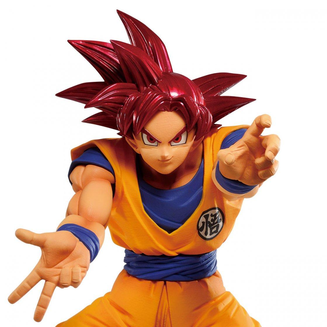 Figurine maximatic the son goku v dragon ball super