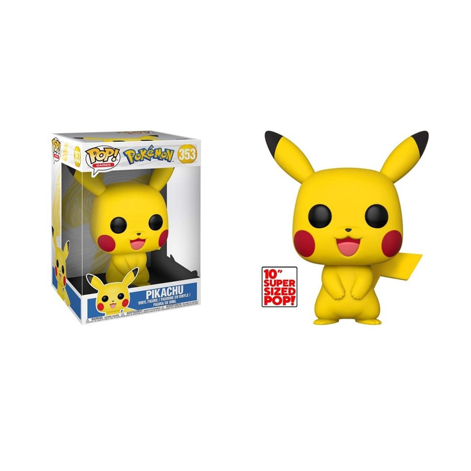 Figurine pop 353 pikachu 25cm