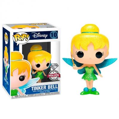 Figurine pop disney clochette glitter exclusive
