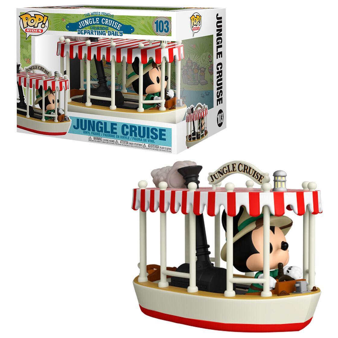 Figurine pop disney jungle cruise mickey